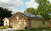 "A ""near zero-energy residence"" at 6921 Radcliff in Houston, installed by Solar Innovation"