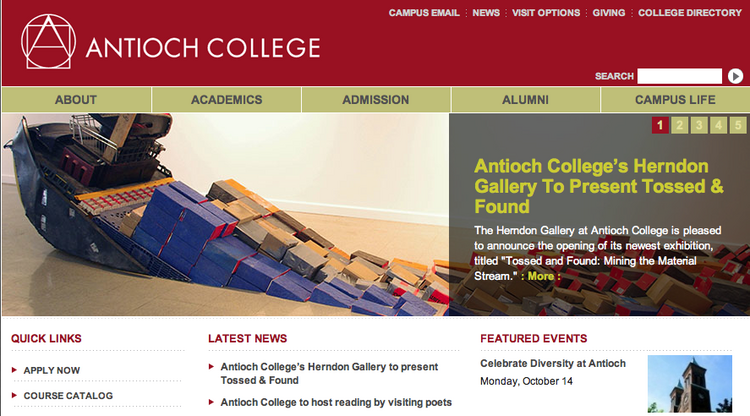 Antioch College plans to construct a geothermal plant for heating and air conditioning on campus.