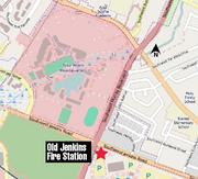 The fire station is located at 14480 S.W. Jenkins Road.