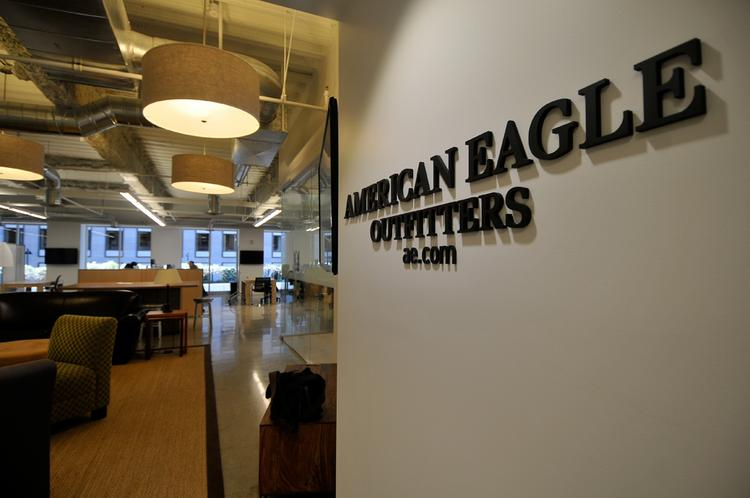 American Eagle's new office in San Francisco.