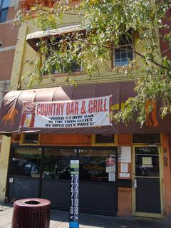 The Country Bar and Grill  in Uptown is for sale.