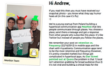 Startup's quirky ploy to get in front of tech vet <strong>Andrew</strong> <strong>Chen</strong>