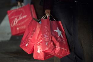 Holiday shopper traffic decreased by 21.2 percent compared to the same time period in 2012, according to ShopperTrak.