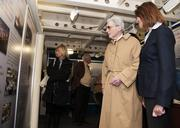 Former U.S. Sen. John Warner, R-Va., his wife, Jeanne, and guests tour the Hampton Roads Naval Museum and the Battleship Wisconsin. Warner was in Hampton Roads for the keel-laying ceremony for the Virginia-class attack submarine pre-commissioning unit John Warner (SSN 785).
