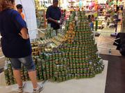 Johnson Controls chose Peru's Inca site Machu Picchu for its Canstruction model at AIA Honolulu's Canstruction fundraiser at Pearlridge Center on Oahu.
