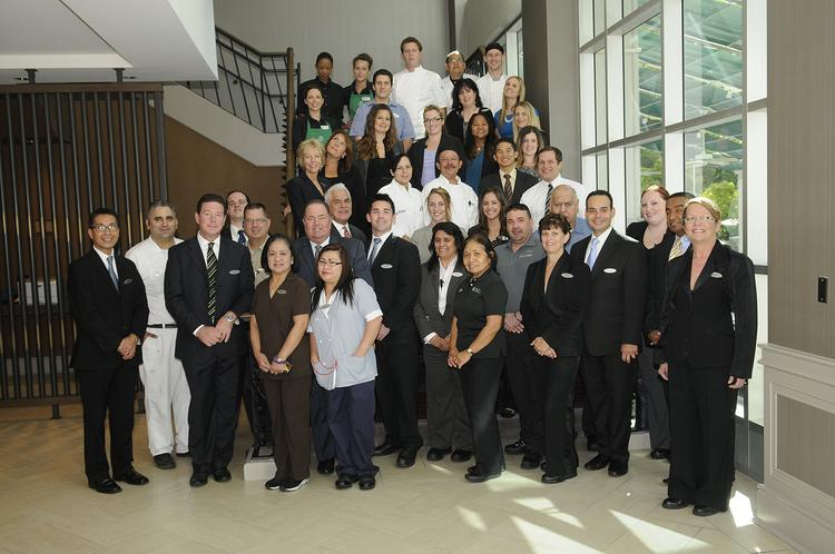 Employees at the Hyatt Regency Sacramento describe their workplace as a community that treats them with respect and applauds their accomplishments.