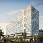 Half full: New lease pushes 400 Fairview office tower to 50 percent leased