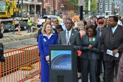 Mayor Mark Mallory thanked streetcar supporters for their efforts as well as the people behind the scenes who are working on the project.