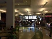 The lobby at the Fort Drum Plaza.