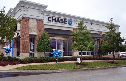Chase Opens First Three Jacksonville Branches Three More