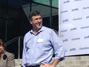 Yodle CEO Court Cunningham hosts a grand-opening event at the firm's new Charlotte office.