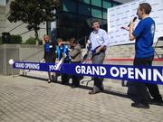 Yodle hosts grand-opening event at its new Charlotte office.