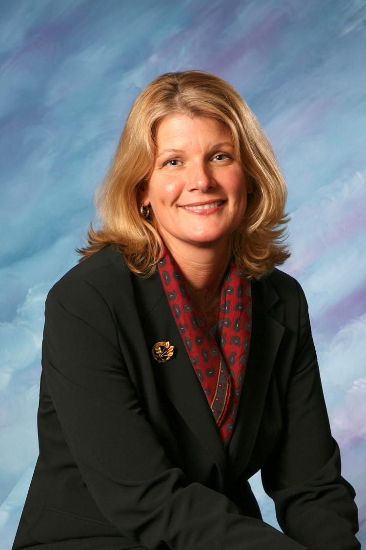 Kathy Burbank will step down as president of the Guilderland Chamber of Commerce Nov. 8 to become executive director of Community Caregivers.