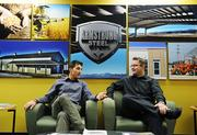 Fastest-growing Private Companies 2013 - Flight III, No. 3: Armstrong Steel Eric Beavers, vice president of operations and Charles Nelson, graphic designer at Armstrong Steel.