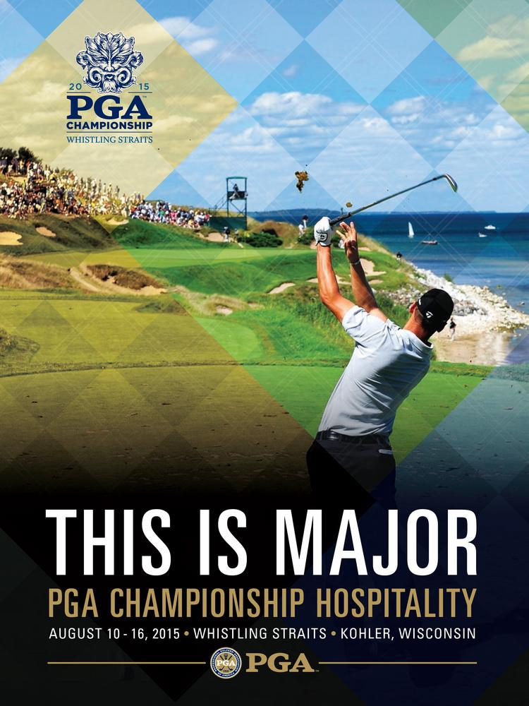 The 2015 PGA Championship at Kohler Co.'s Whistling Straits will offer three options for corporate hospitality chalets, all located close to the fairways and greens.