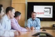 Fastest-growing Private Companies 2013 - Flight I, No. 1: SquareTwo Financial. Paul Larkins, president and CEO of SquareTwo Financial with the Emerging Leaders group.