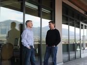 Fastest-growing Private Companies 2013 - Flight I, No. 3: Zayo Group Ken desGarennes, CFO, and David Howson, president sales, at Zayo Group's new location in Boulder.