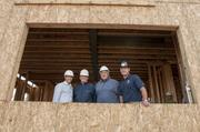 Fastest-growing Private Companies 2013 - Flight II, No. 3: CDL Homes dba Wonderland Homes Steve Phua, president and CEO; Mike Hart, vice president sales and marketing; John Picon, CFO; Kolby O'Herron, director of operations and all are also owners of Wonderland Homes, tour a home under construction in Stapleton.