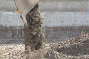 Coburn and Nguyen moved dirt piles on the Froedtert construction site.