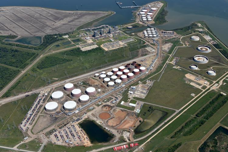Kinder Morgan is expanding its storage space along the Battleground Oil Specialty Terminal Company LLC (BOSTCO) storage space on the Houston Ship Channel.