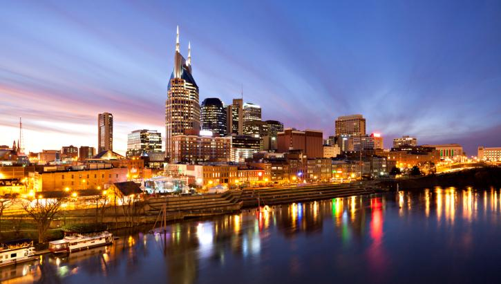 A number of new hotels are heading for downtown Nashville.
