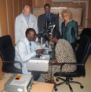The Retina Group of Washington has donated an opthalmic laser machine to the King Faisal Hospital in Rwanda.