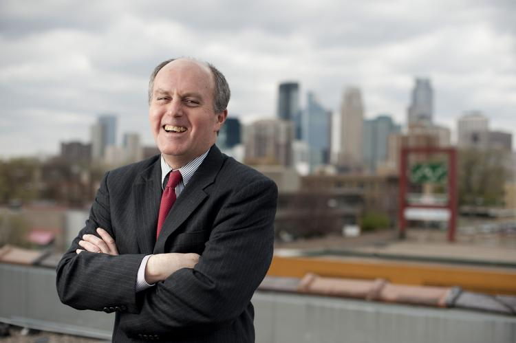 Steve Cramer, the new president and CEO of the Minneapolis Downtown Council and the Downtown Improvement District.
