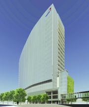 The planned redevelopment of the Capital One campus was approved in 2012. This rendering of a new bank HQ was later tossed in favor of a much larger building, which the county is currently reviewing.