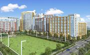 LCOR Inc. plans to redevelop The Commons in Tysons. This is a rendering of what it will look like.