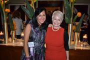 Laura Lee Williams, left, of Laura Lee Designs, with Cynthia Lorenzi of Success in the City.