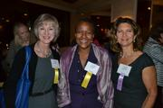 From left, Teresa Bozzelli of Sapient Government Services, Caryn Mathes of WAMU 88.5 and Diane Tipton of Self Storage Zone.