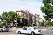 The Starbucks Building sits at the intersection of Connecticut Avenue, 19th Street and Dupont Circle.