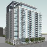 Highland apartment tower will cost $53 million, will include 5,000 square feet of retail