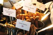 The ballpark will serve a number of different specialty sausages and bratwursts.