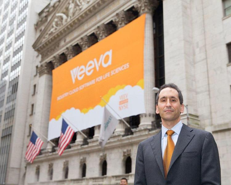 Veeva Systems, led by CEO Peter Gassner, raised $261 million in an IPO this week and debuted on the New York Stock Exchange with a more than 80 percent jump in price.
