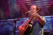 Dave Matthews performs during Farm Aid in New York on Sept. 9, 2007.