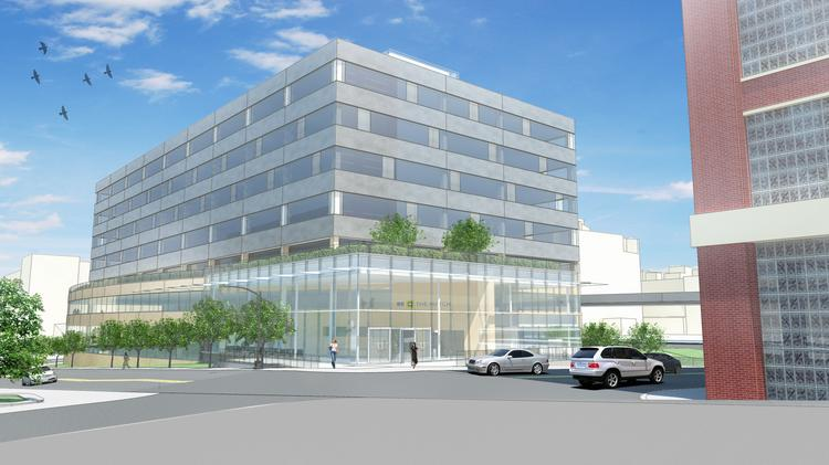 The new North Loop headquarters will have about 240,000 square feet of space and include a rooftop deck that has views of the downtown skyline and Target Field.
