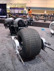 """Another Parker Brothers Concept masterpiece, a Batcycle reproduction from """"The Dark Knight."""""""