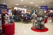 An interior view of the new Belk store in Morganton.