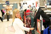 A woman shops at the Salisbury Belk store.