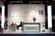 The Italian Trade Commission even had a presence on the exhibitor floor to support the many Italian companies attending the event.