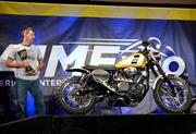 Bike builder Greg Hageman stands by his award-winning design for Star Motorcycles. Hageman was part of a national contest between notable builders for the chance to customize a Star Bolt cycle.