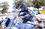 Suzuki enthusiasts were able to take the new Boulevard for a spin in the outdoor test ride space.