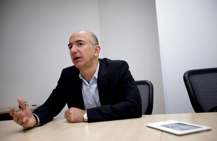 Jeff Bezos, chairman and chief executive officer of Amazon.com Inc., issued a letter to shareholders on Friday that took on critics of the company's customer-friendly business model.