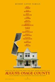 """""""August: Osage County"""" stars Meryl Streep, Julia Roberts, Ewan McGregor, Chris Cooper, Abigail Breslin, Benedict Cumberbatch, Juliette Lewis, Margo Martindale, Dermot Mulroney, Julianne Nicholson, Sam Shepard and Misty Upham.  It is based on a Tony Award- and Pulitzer Prize-winning play by Tracy Letts, who will screen the film at next month's Houston Cinema Arts Festival."""