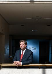 HCA Holdings vice president Will  Morrow directs the company's investment arm.