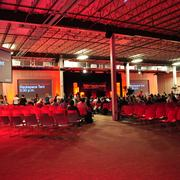 Many sponsors pitched in to design, layout and light the TEDxSanAntonio space.