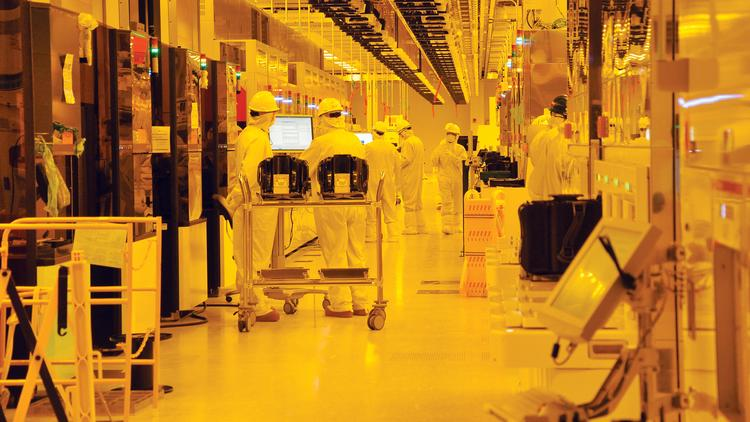 GlobalFoundries has licensed technology from Samsung and the two companies are teaming up to produce faster, more energy efficient chips that could be used in everything from cellphones to tablets, Chromebooks to PCs, according to industry analyst Jim McGregor.