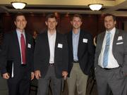 From left: Dan Kuninsky of Bass, Berry & Sims PLC, Forrest Perkins of The Crichton Group, Clarke Norvell of BDO and Tom Purdom of Emdeon