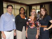 From left: Paul Steele of Martin & Zerfoss, Lacey Askew of HCA Healthcare, Jaclyn Johnson Tidwell of Arts & Business Council of Greater Nashville, and Kayla Clayborne of Tennessee Valley Authority